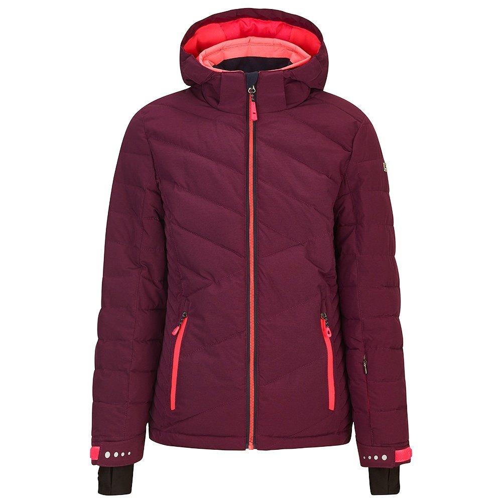 Killtec Gladis Insulated Ski Jacket (Girls') - Dark Plum