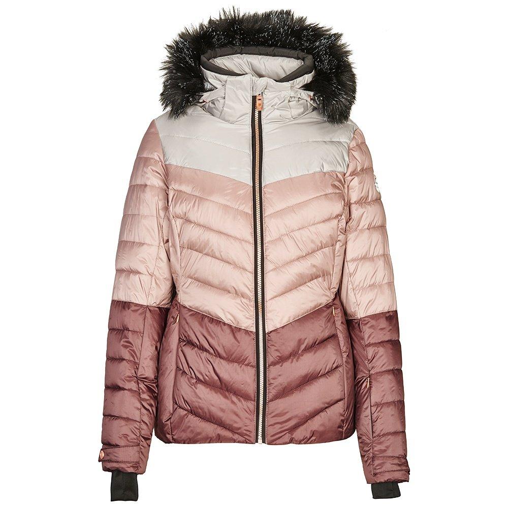 Killtec Brinley Insulated Ski Jacket (Women's) - Dark Rose