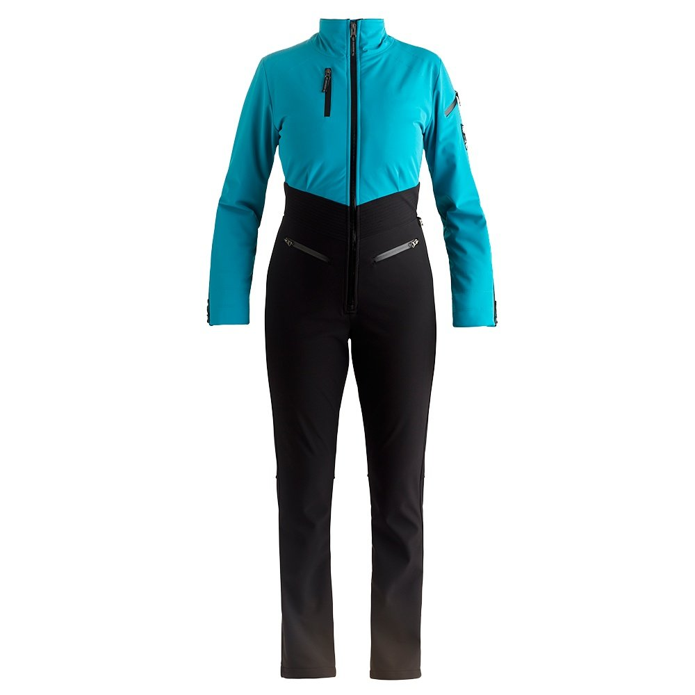 Nils Kora One-Piece Insulated Ski Suit (Women's) - Aqua/Black