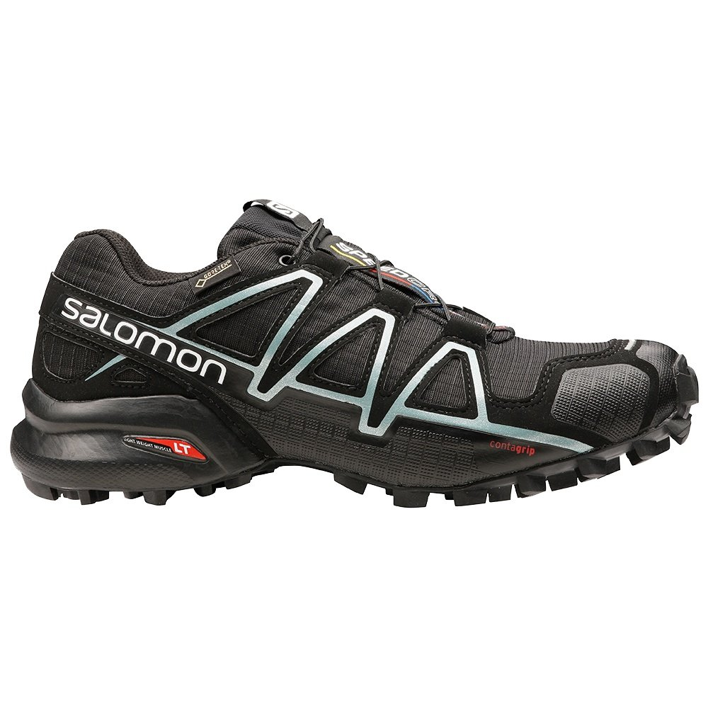 Salomon Speedcross 4 GORE-TEX Trail Running Shoe (Women's) - Metallic Black