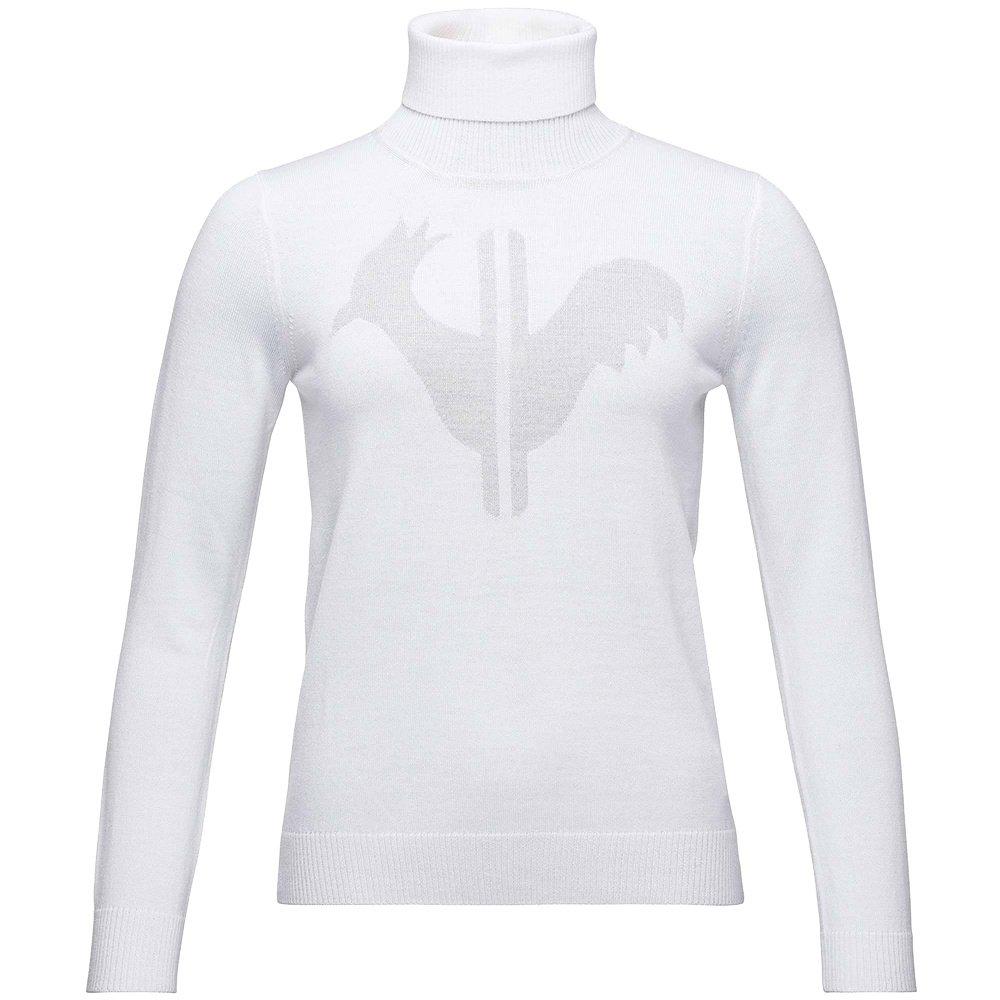 Rossignol Classique Roll Neck Sweater (Women's) - White