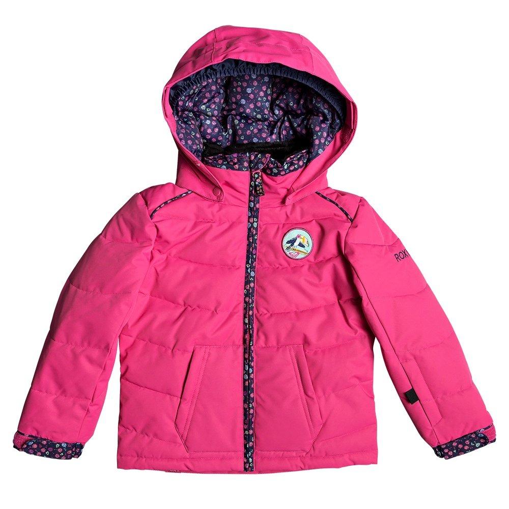 Roxy Anna Insulated Snowboard Jacket (Little Girls') - Beetroot Pink