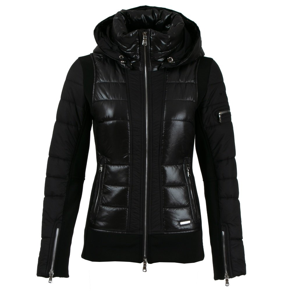 MDC Stevie Insulated Ski Jacket (Women's) - Black Shiny