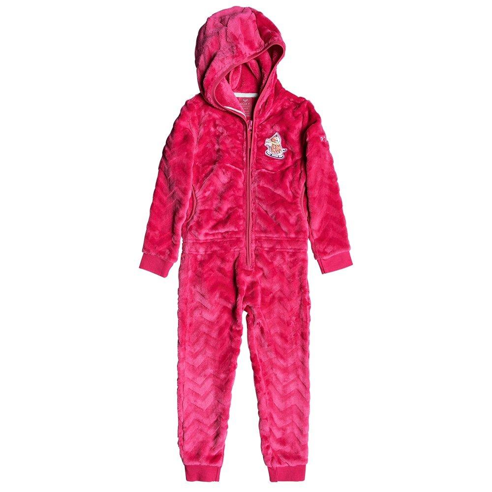 Roxy Cozy Up One Piece Fleece (Little Kids') - Beetroot Pink