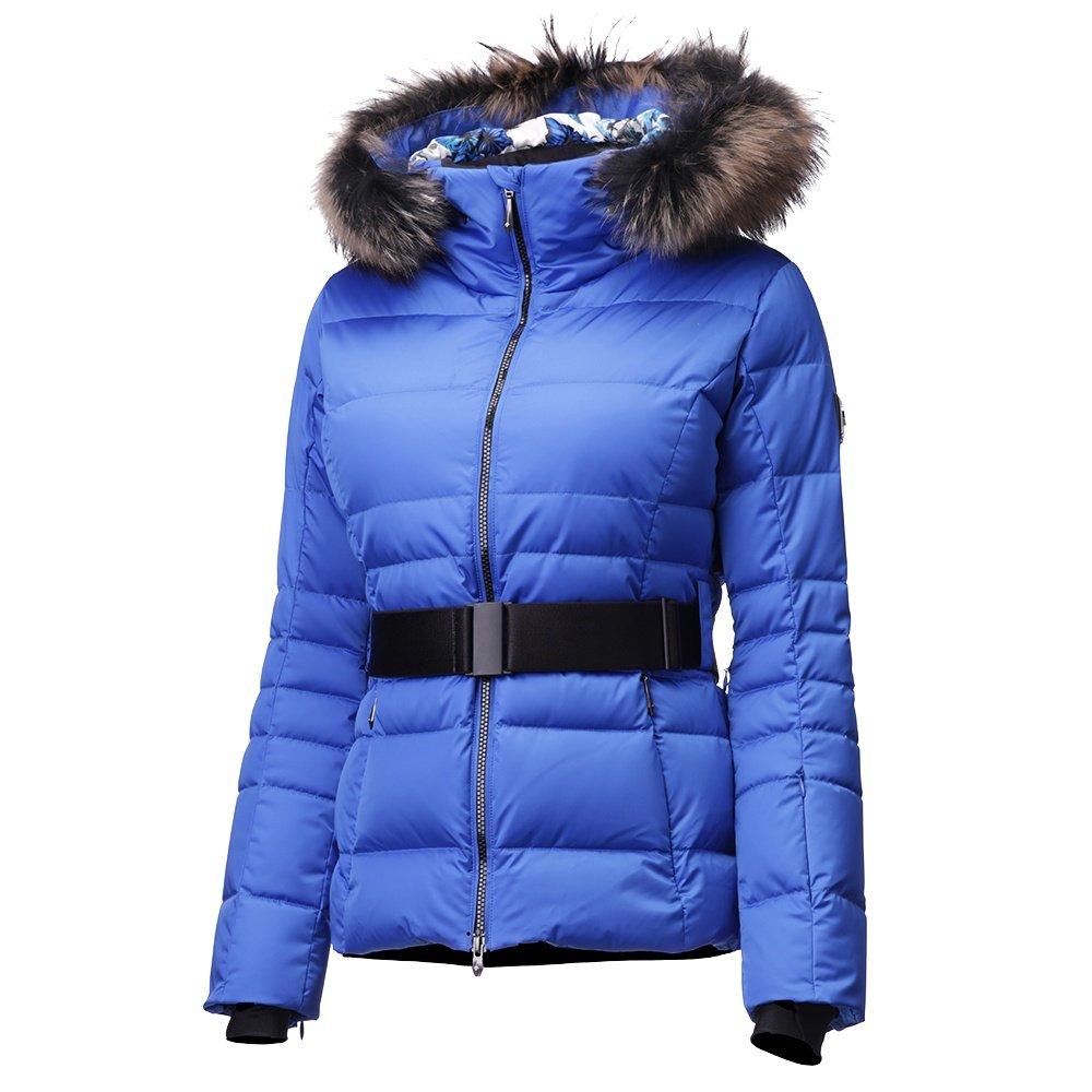 Descente Misaki Down Ski Jacket with Real Fur (Women's) - Victory Blue