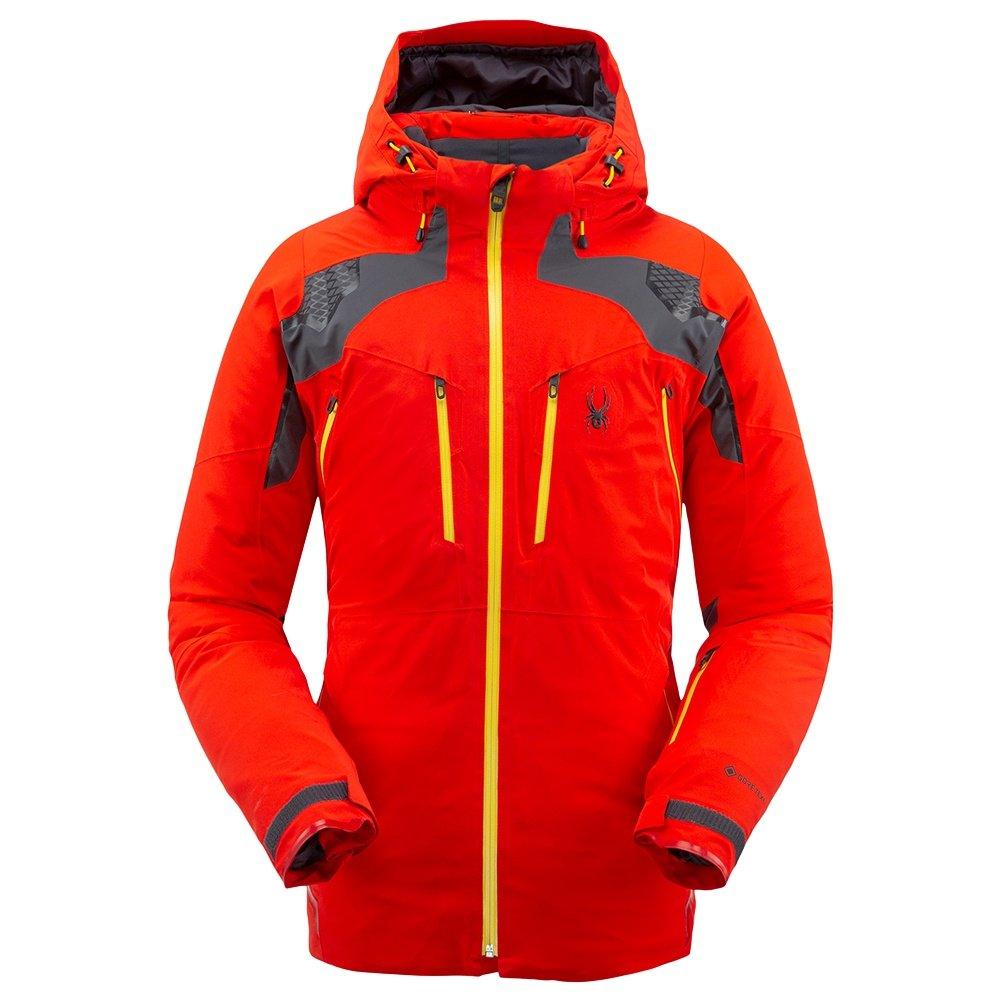 Spyder Pinnacle GORE-TEX Insulated Ski Jacket (Men's) - Volcano