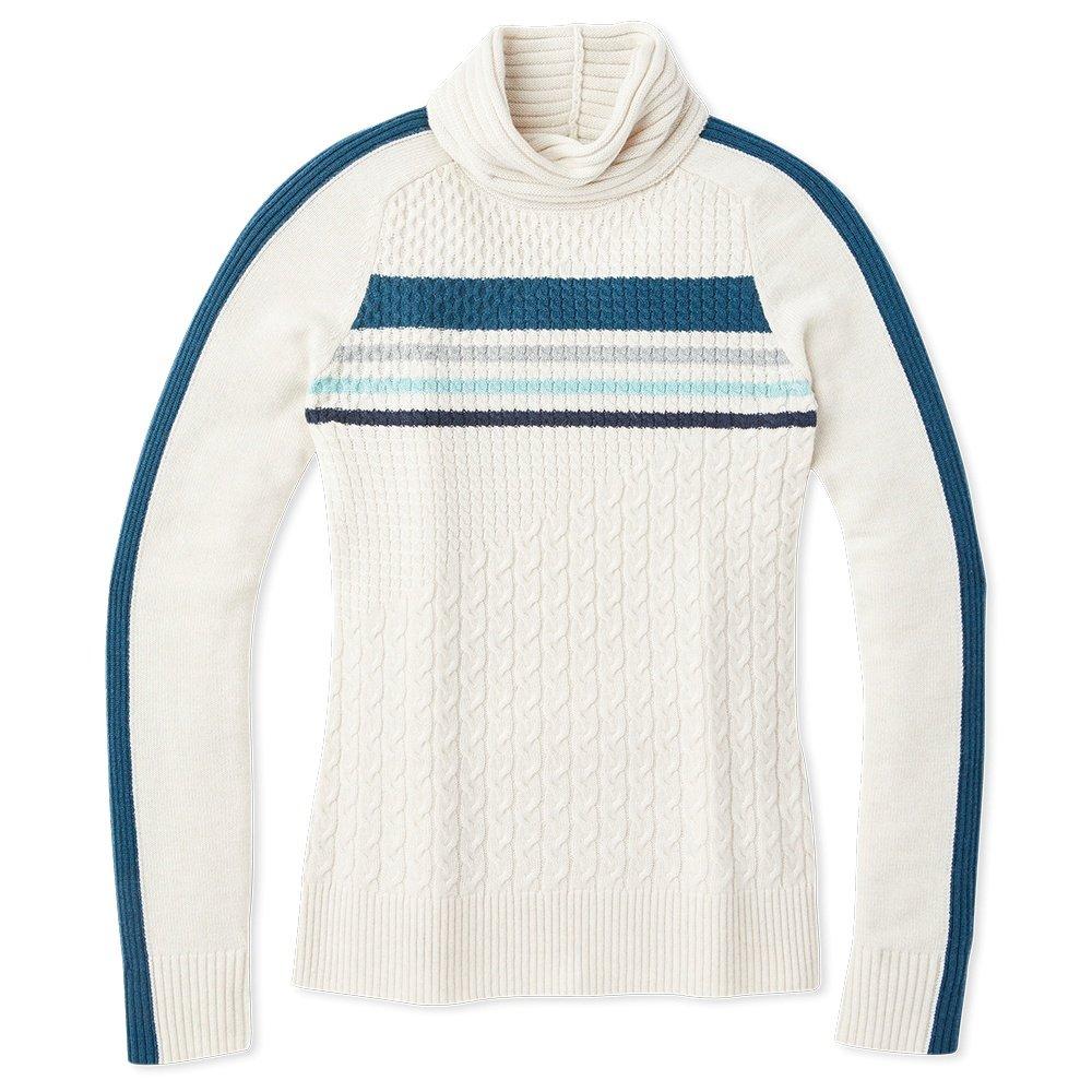 SmartWool Dacono Ski Sweater (Women's) - Moonbeam Heather