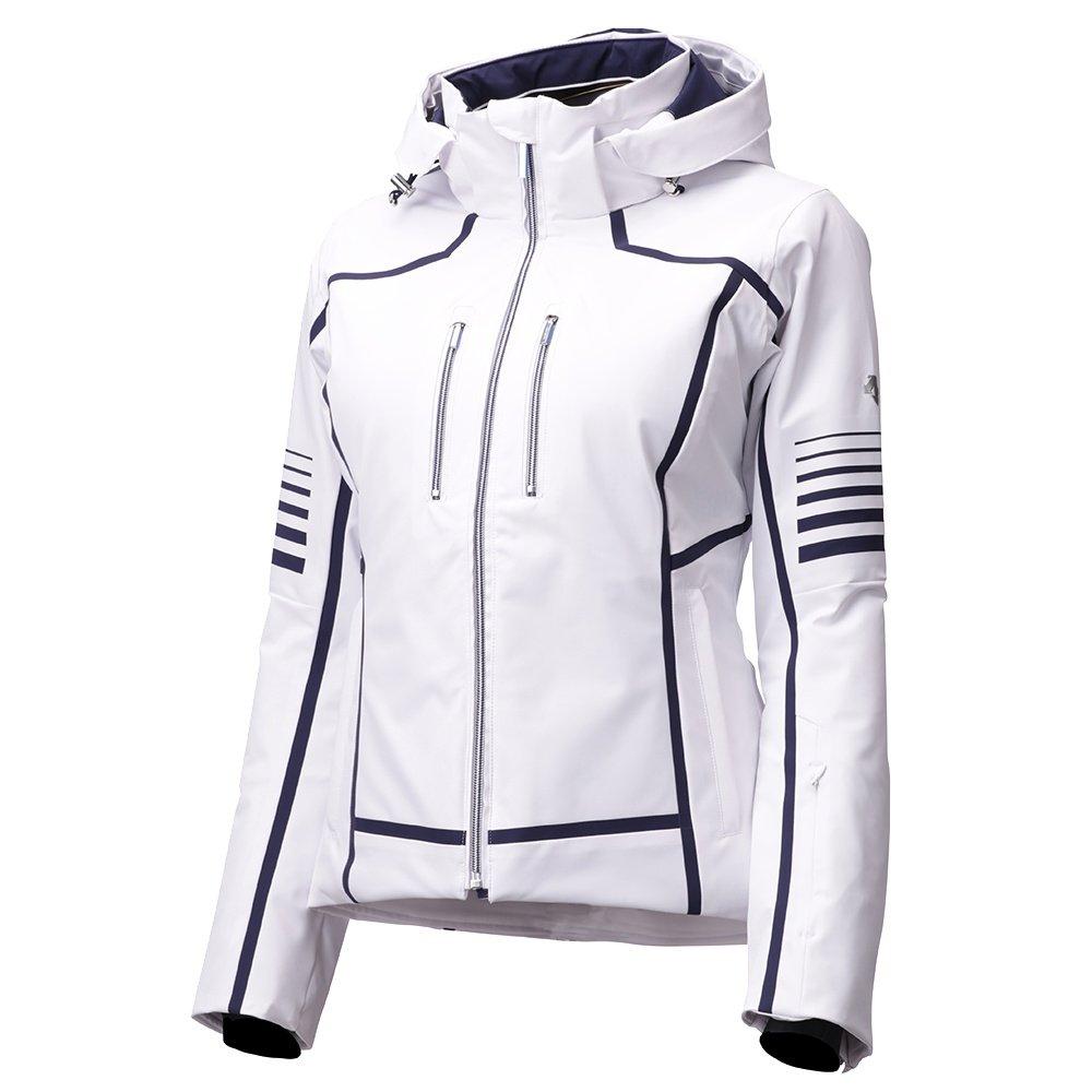 Descente Evangeline Insulated Ski Jacket (Women's) - Super White Jacquard