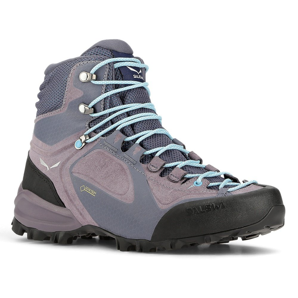 Salewa Alpenviolet Mid GORE-TEX Hiking Boot (Women's) - Grisaille/Ethernal Blue
