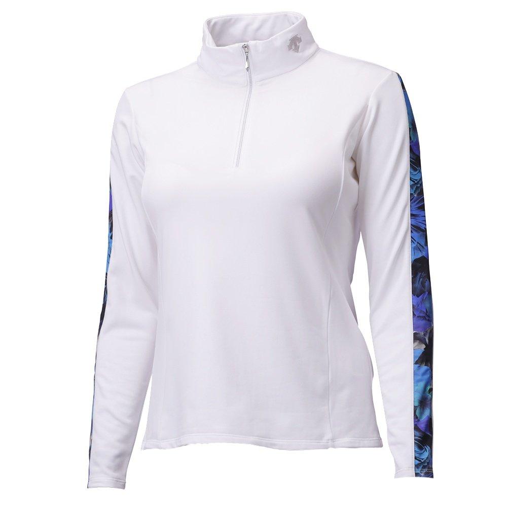 Descente Khaori Maki 1/4-Zip Mid-Layer (Women's) - Super White