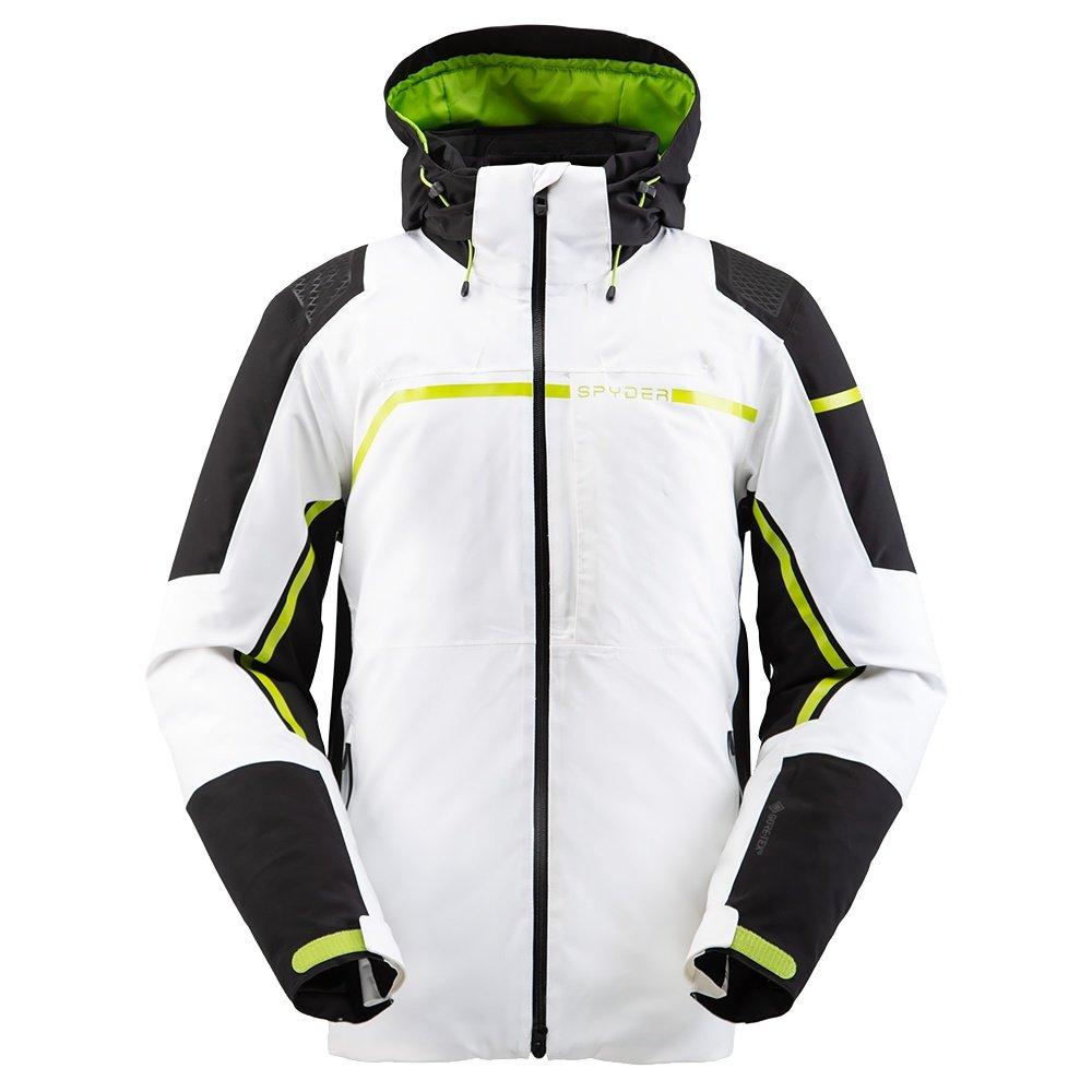 Spyder Titan GORE-TEX Insulated Ski Jacket (Men's) - White