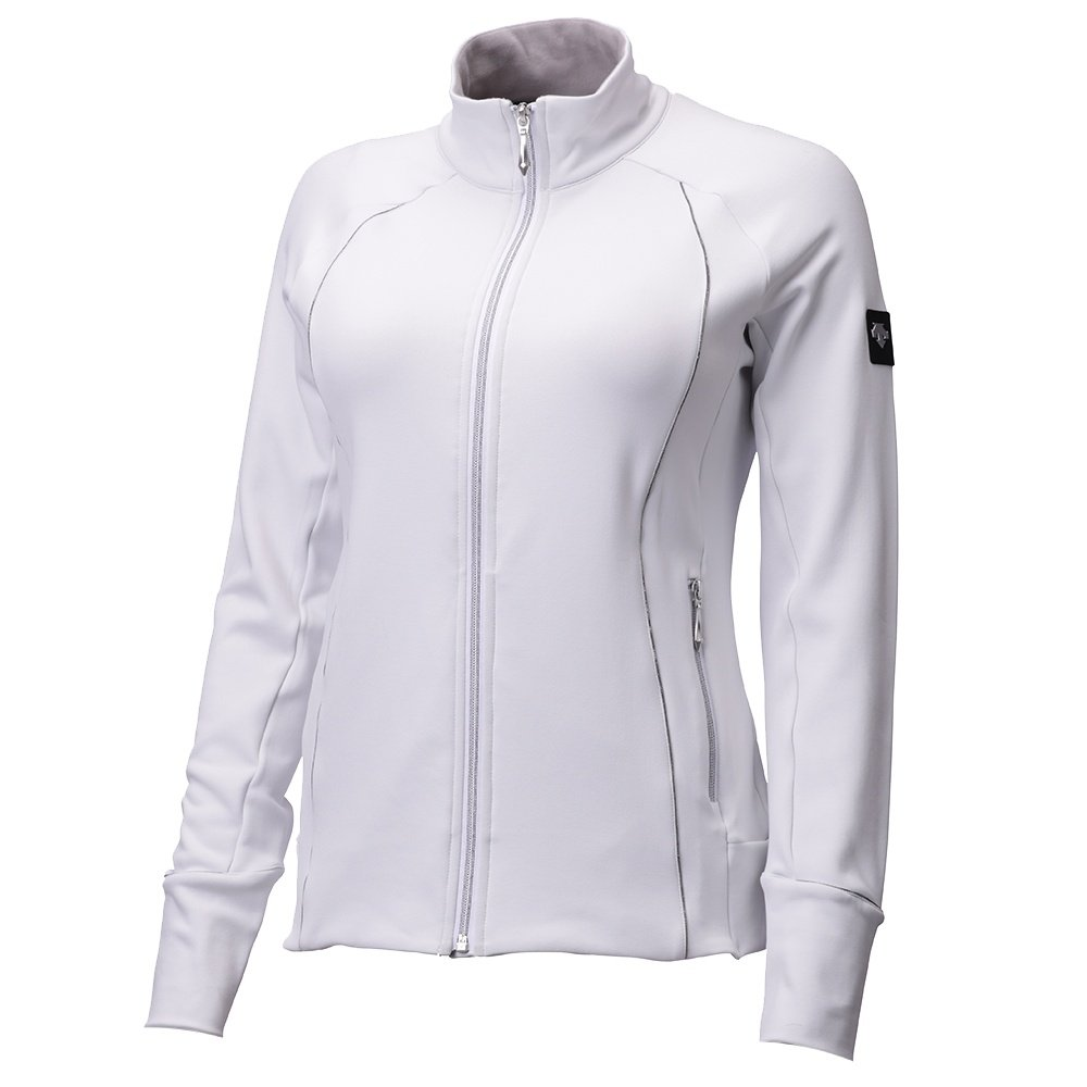 Descente Aria Full-Zip Sweater (Women's) - Super White