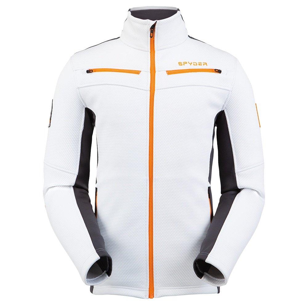 Spyder Wenger Encore Full Zip Fleece Jacket (Men's) - White