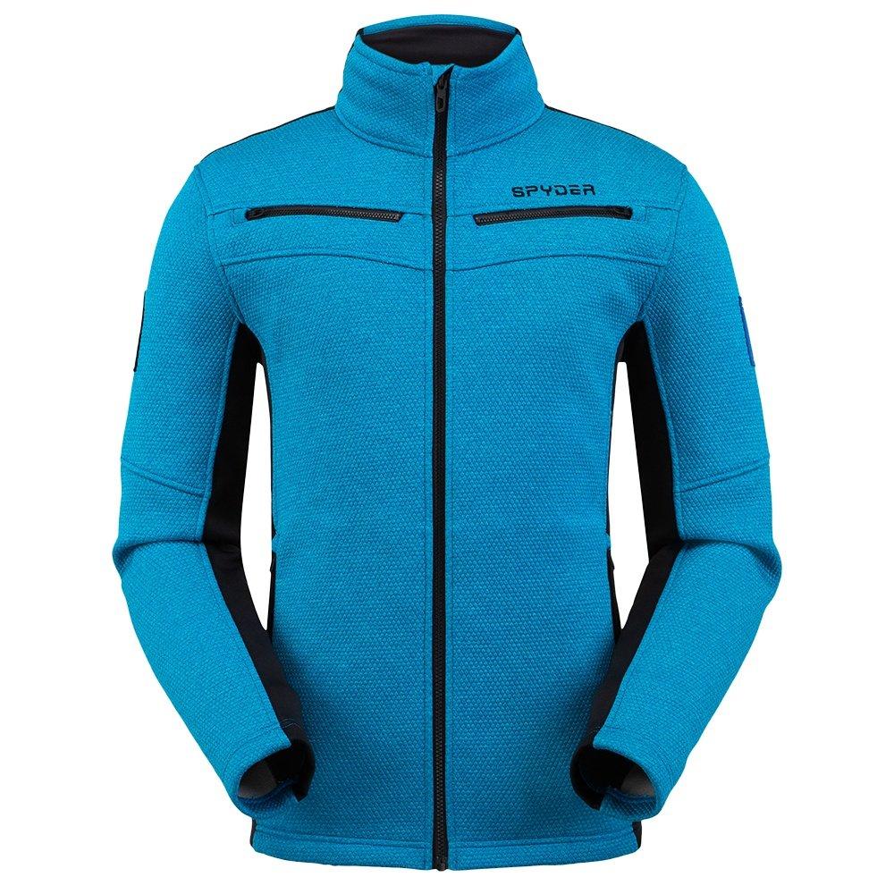 Spyder Wenger Encore Full Zip Fleece Jacket (Men's) - Lagoon