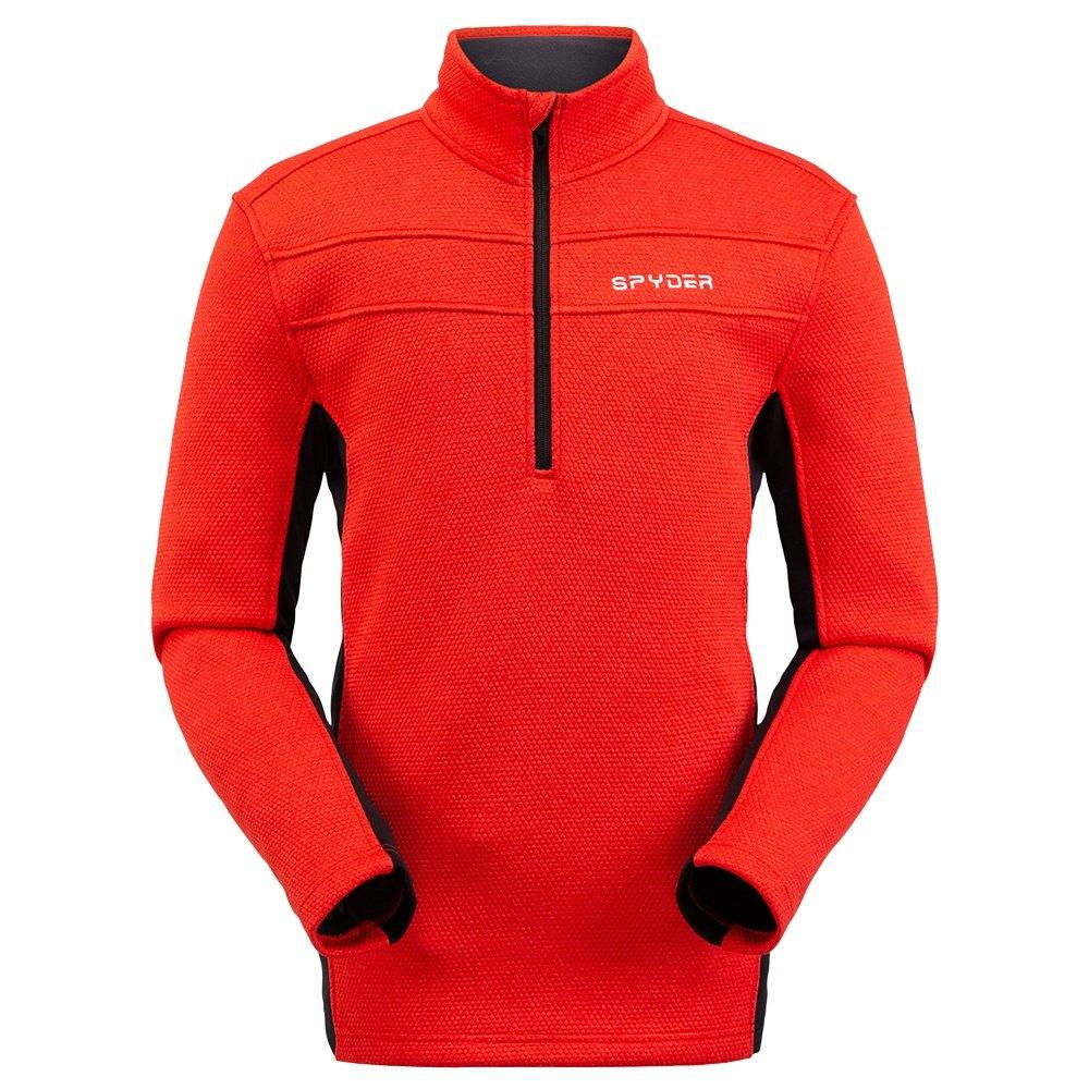 Spyder Encore 1/2-Zip Fleece Jacket (Men's) - Volcano
