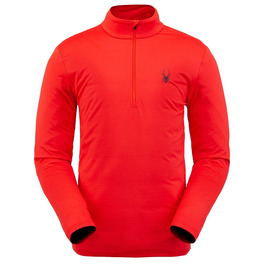 Spyder Prospect Zip Turtleneck Mid-Layer (Men's) - Volcano