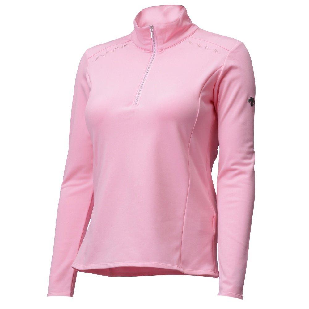 Descente Savannah 1/4-Zip Mid-Layer (Women's) - Blush Pink