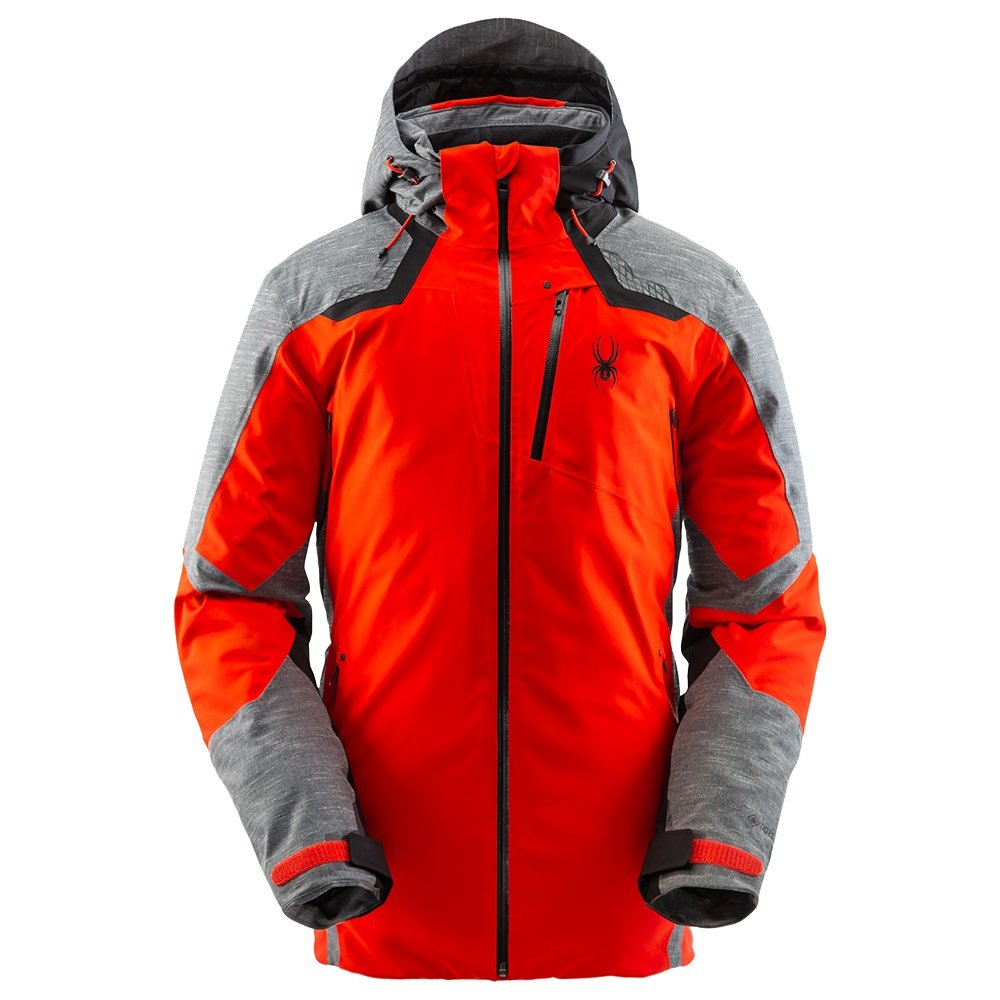 Spyder Leader GORE-TEX Insulated Ski Jacket (Men's) - Volcano
