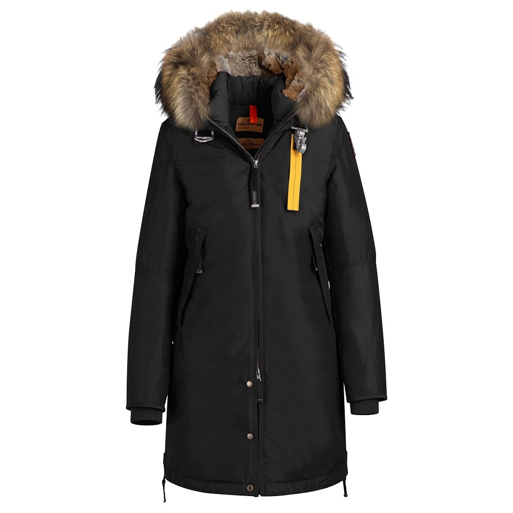 Parajumpers Effie Parka with Real Fur (Women's) - Black