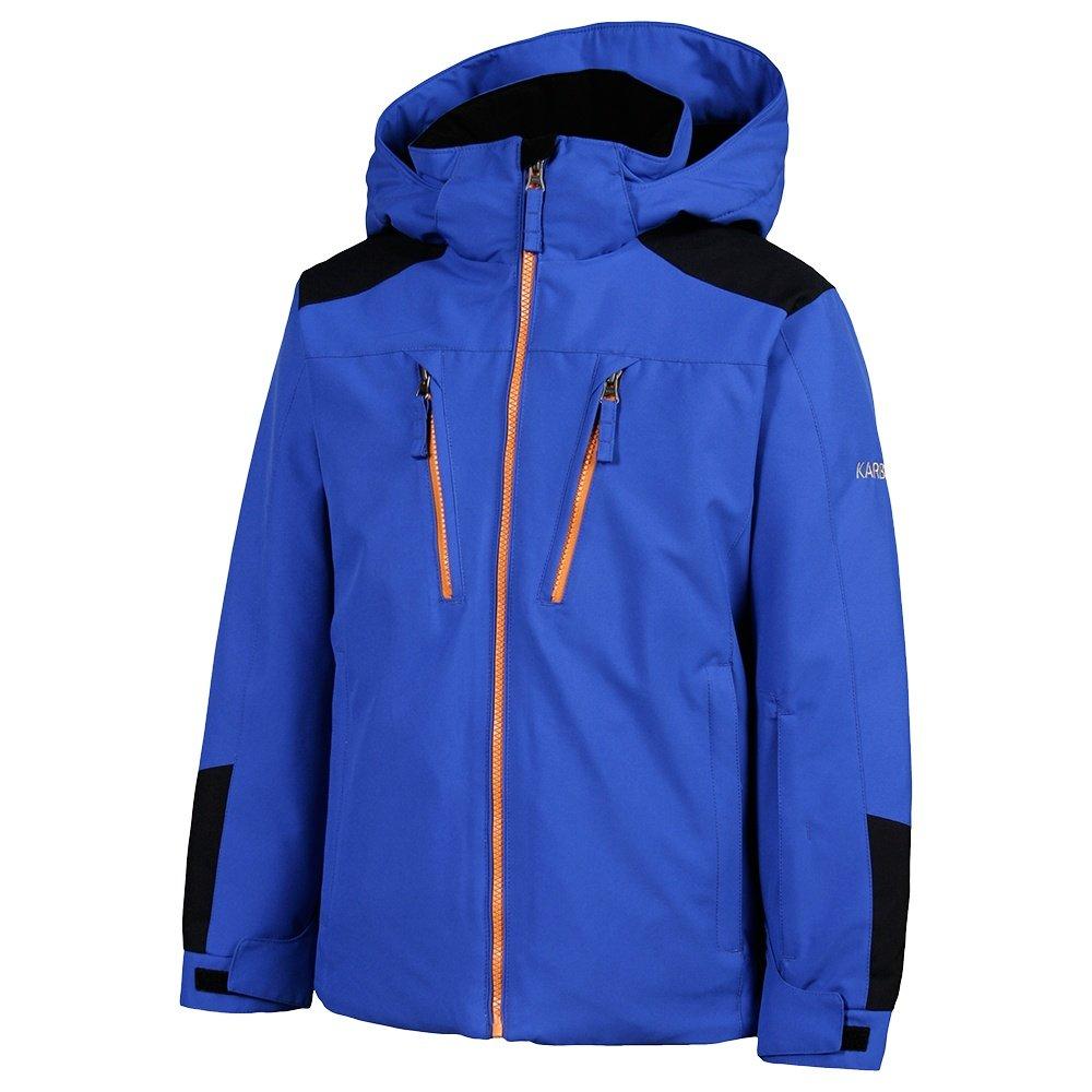 Karbon Maverick Insulated Ski Jacket (Boys') - Patriot/Black/Carrot