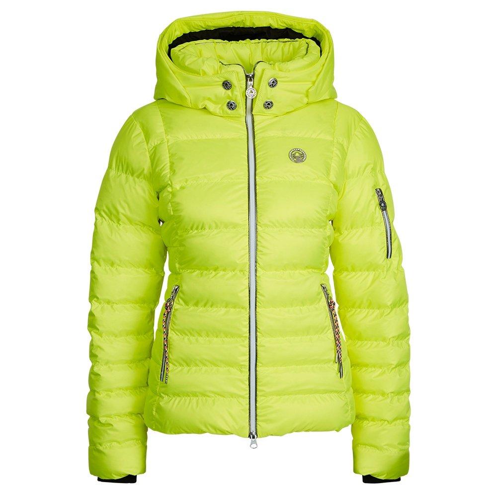 Sportalm Kyla Neon Down Ski Jacket (Women's) - Bang Yellow