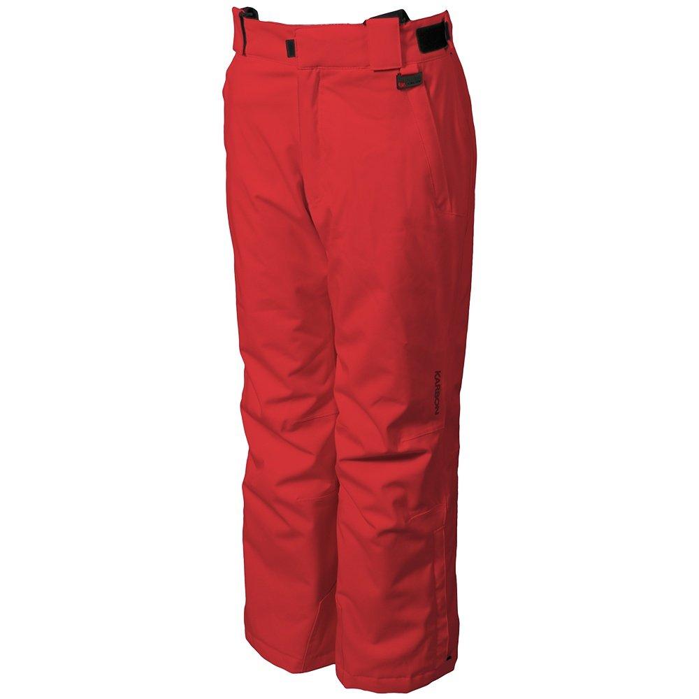 Karbon Stinger Insulated Ski Pant (Boys') - Red