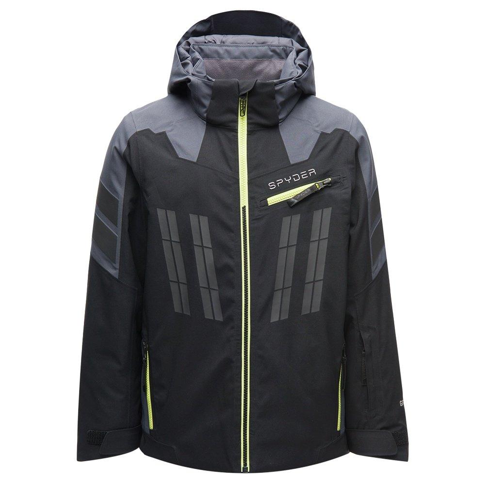 Spyder Monterossa GORE-TEX Insulated Ski Jacket (Boys') - Black/Ebony