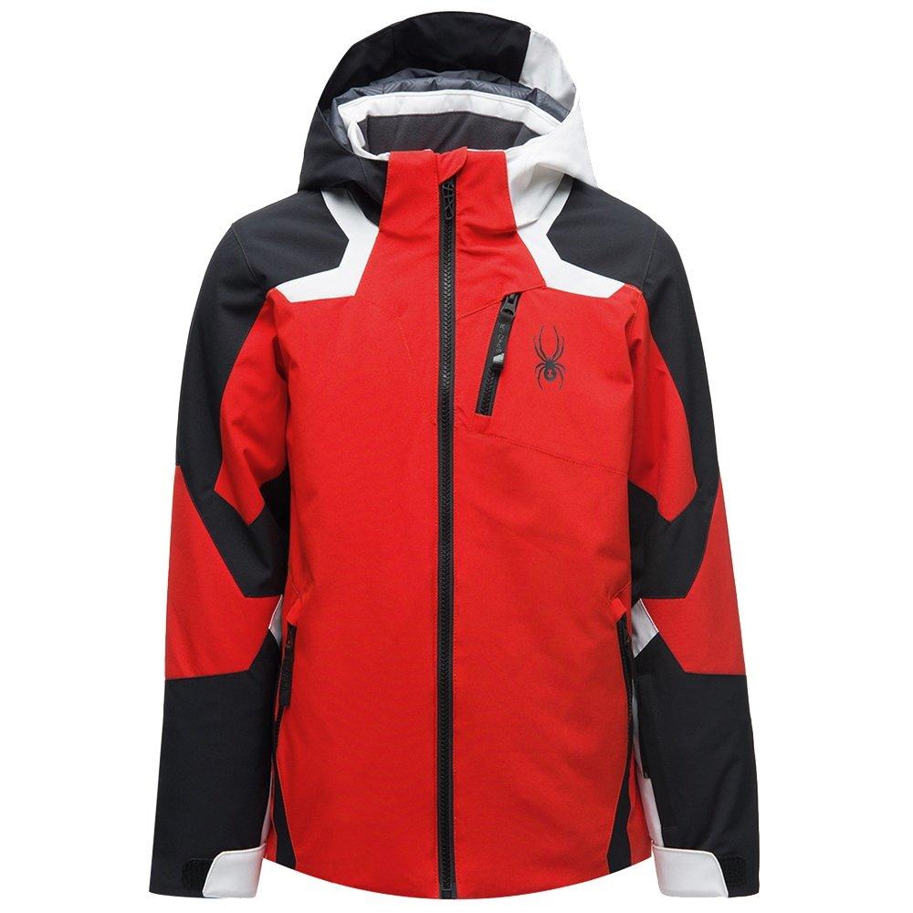 Spyder Leader Insulated Ski Jacket (Boys') - Volcano