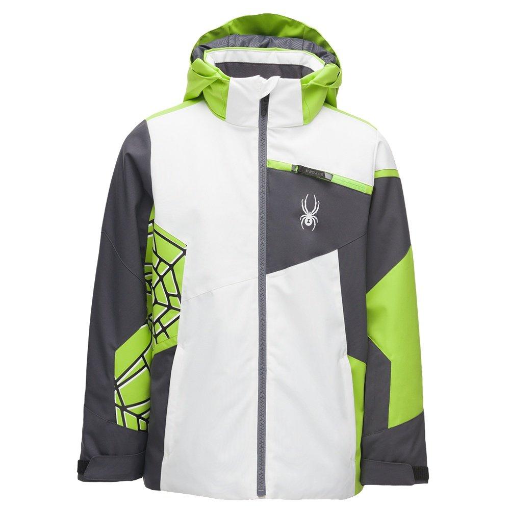 Spyder Challenger Insulated Ski Jacket (Boys')  - White