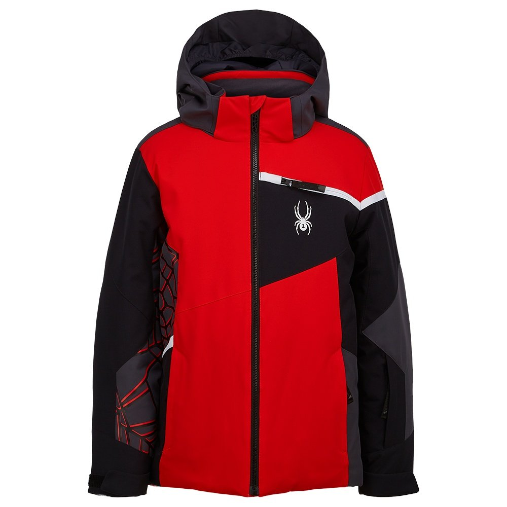 Spyder Challenger Insulated Ski Jacket (Boys')  - Volcano