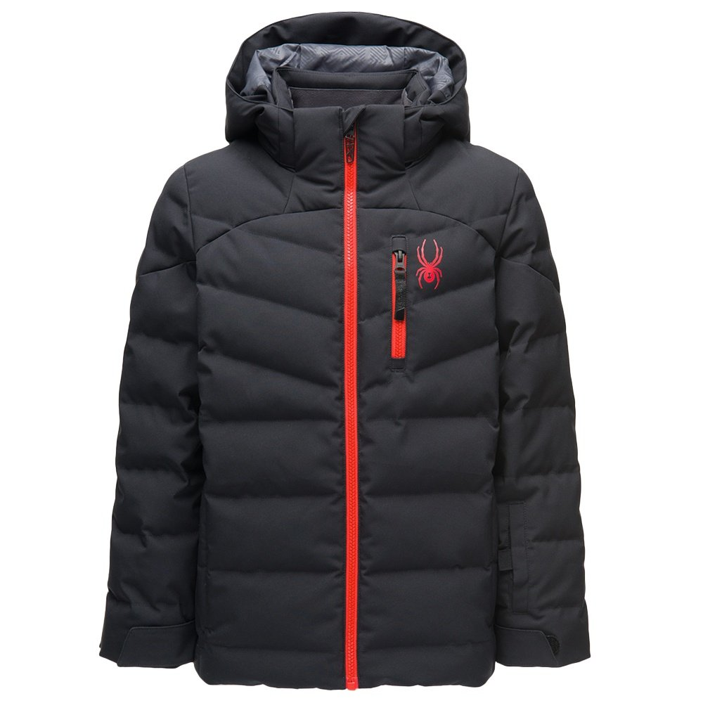 Spyder Impulse Synthetic Down Ski Jacket (Boys') - Black
