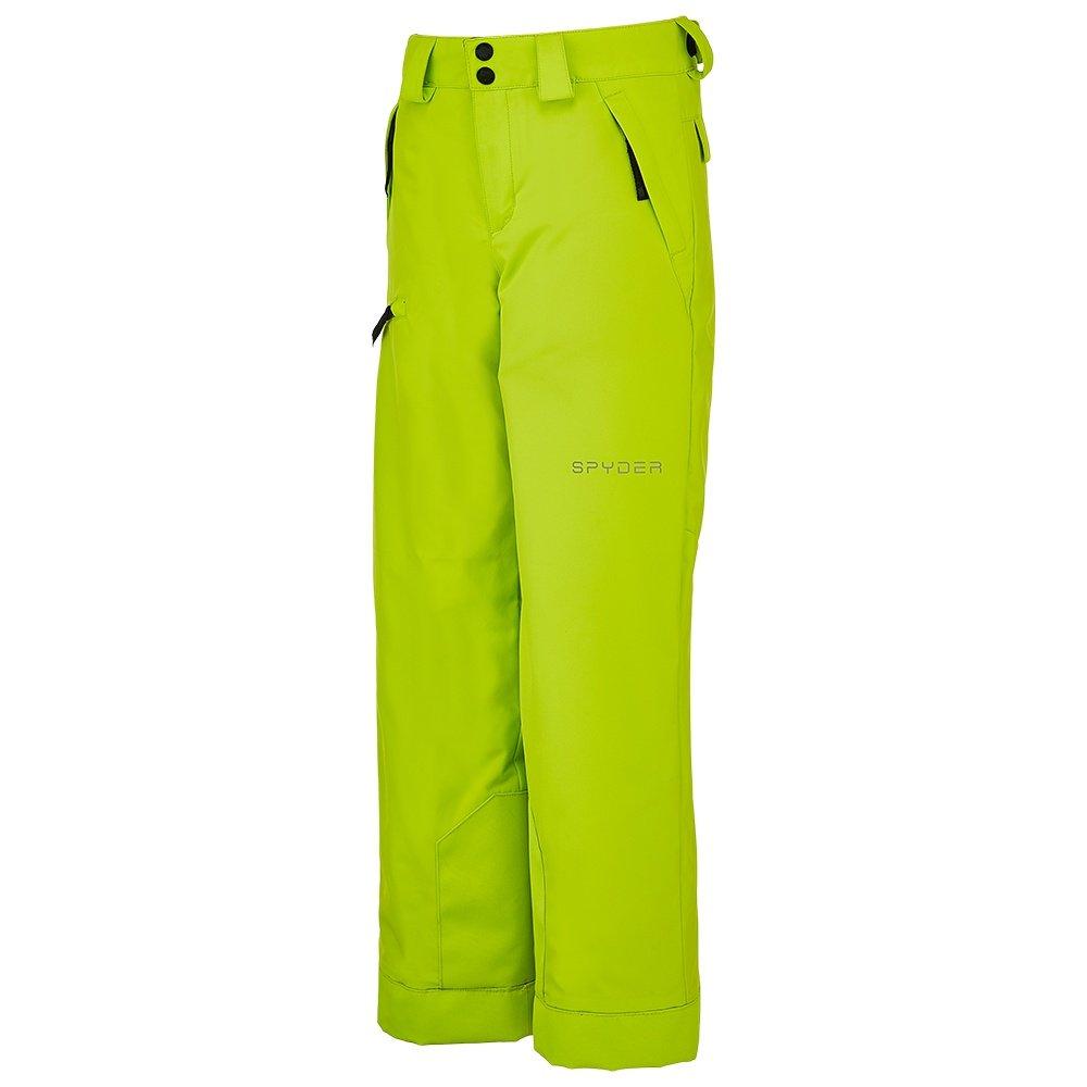 Spyder Propulsion Insulated Ski Pant (Boys') - Sharp Lime