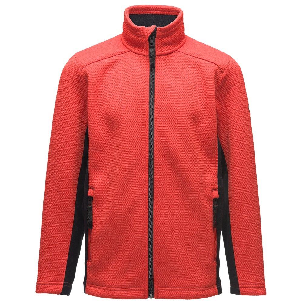 Spyder Encore Full Zip Fleece Jacket (Boys') - Volcano
