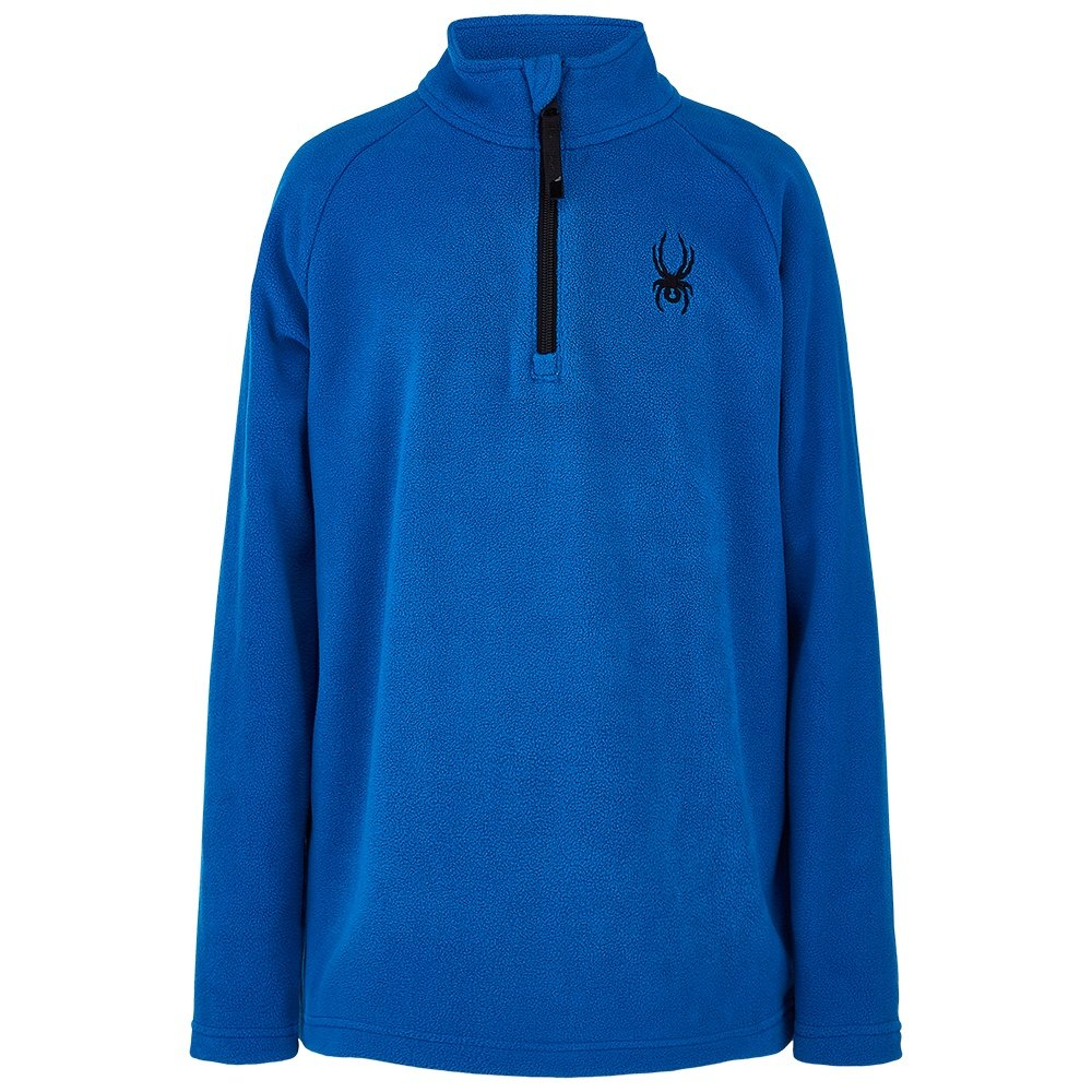 Spyder Speed Fleece Zip Turtleneck (Boys') - Old Glory/Black