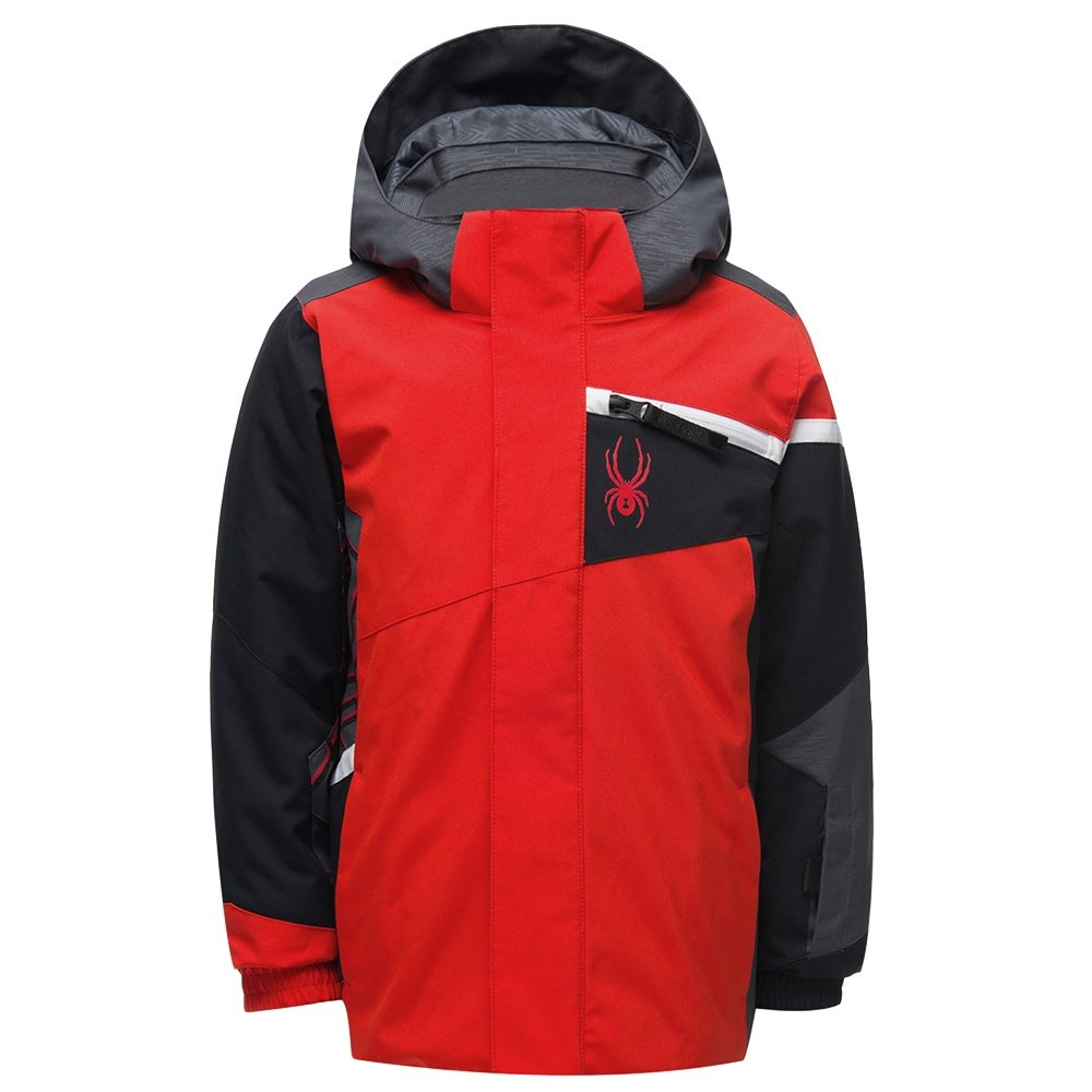 Spyder Challenger Insulated Ski Jacket (Little Boys') - Volcano