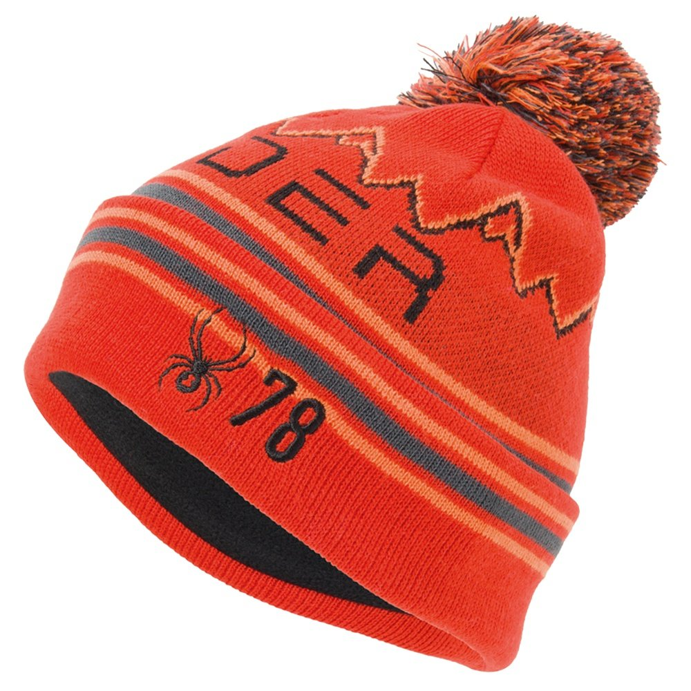 Spyder Icebox Hat (Boys') - Volcano