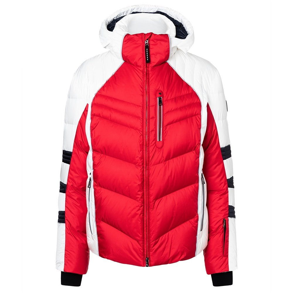 Bogner Bruce-D Down Ski Jacket (Men's) - Fire Engine Red