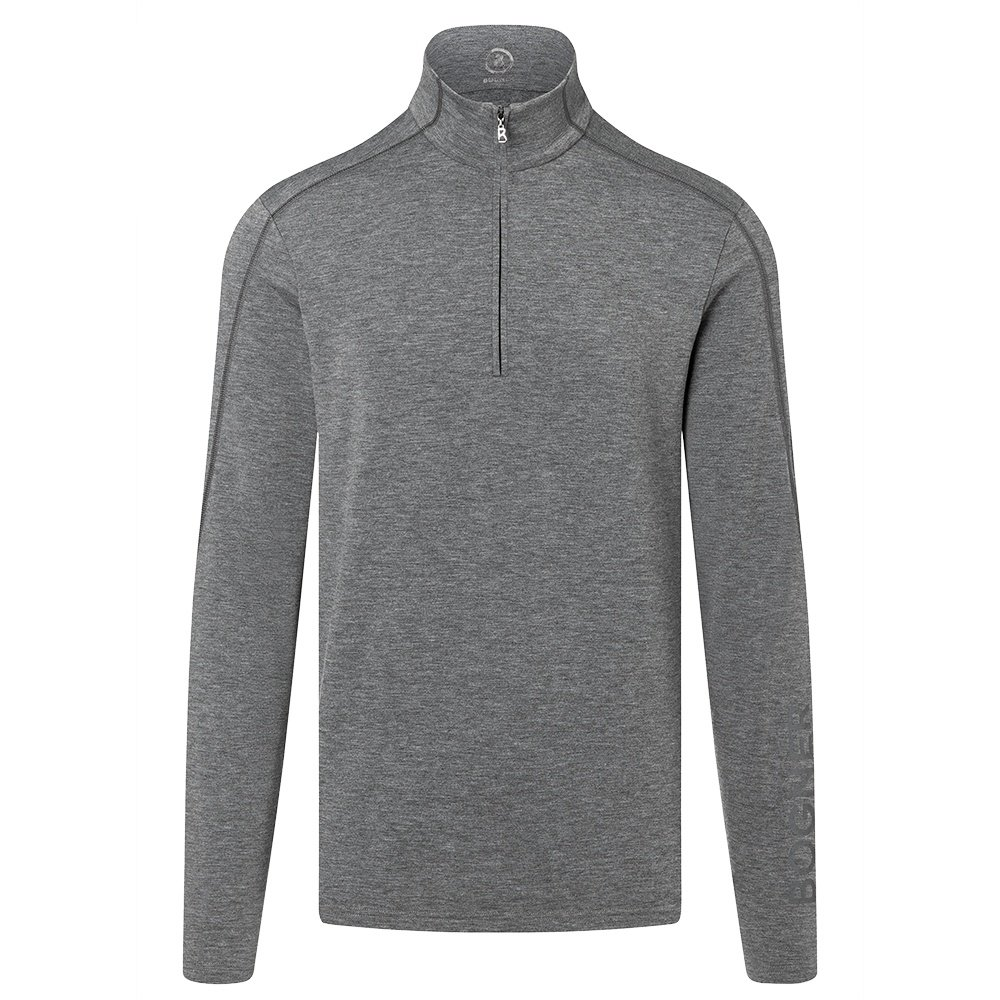 Bogner Harrison 1/4-Zip Turtleneck Mid-Layer (Men's) - Dark Grey