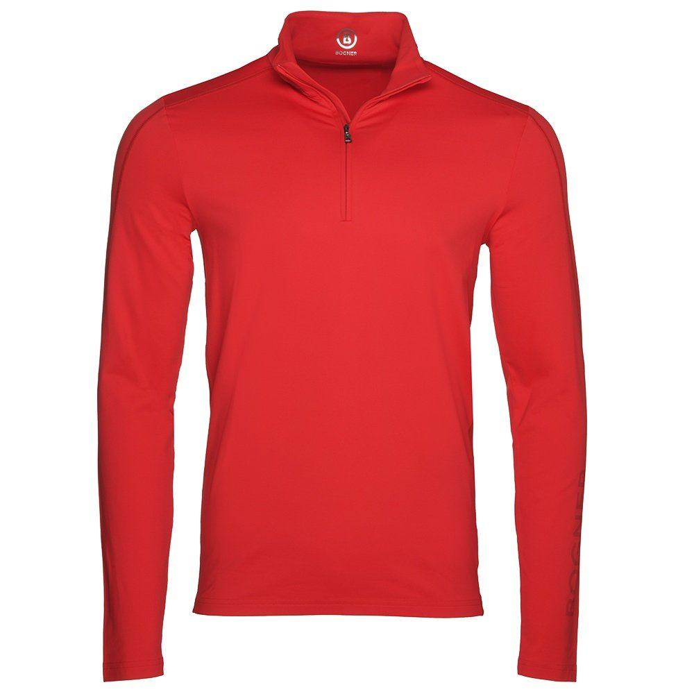 Bogner Harrison 1/4-Zip Turtleneck Mid-Layer (Men's) - Fire Engine Red