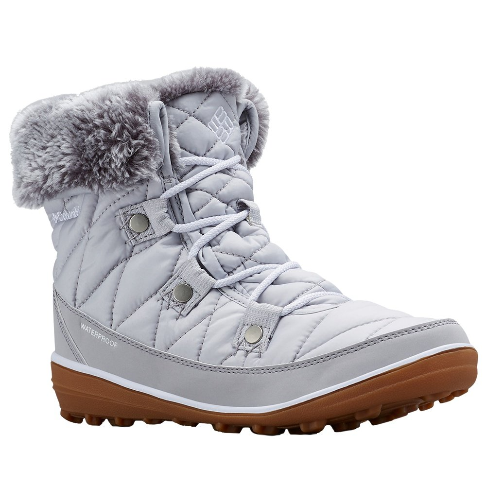 Columbia Heavenly Shorty Omni-Heat Boot (Women's) - Grey Ice/Rocket