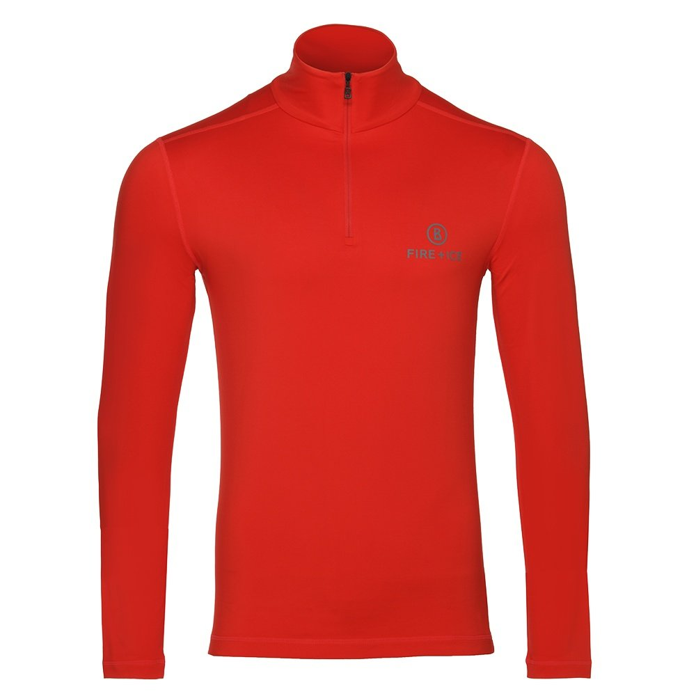 Bogner Fire + Ice Pascale 1/4-Zip Mid-Layer (Men's) - Lava Red