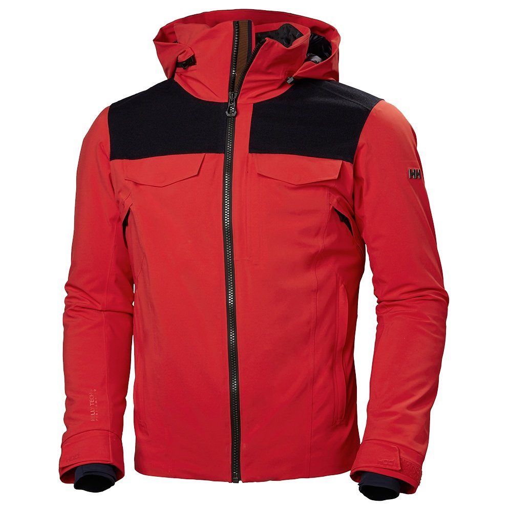 Helly Hansen Jackson Insulated Ski Jacket (Men's) - Alert Red