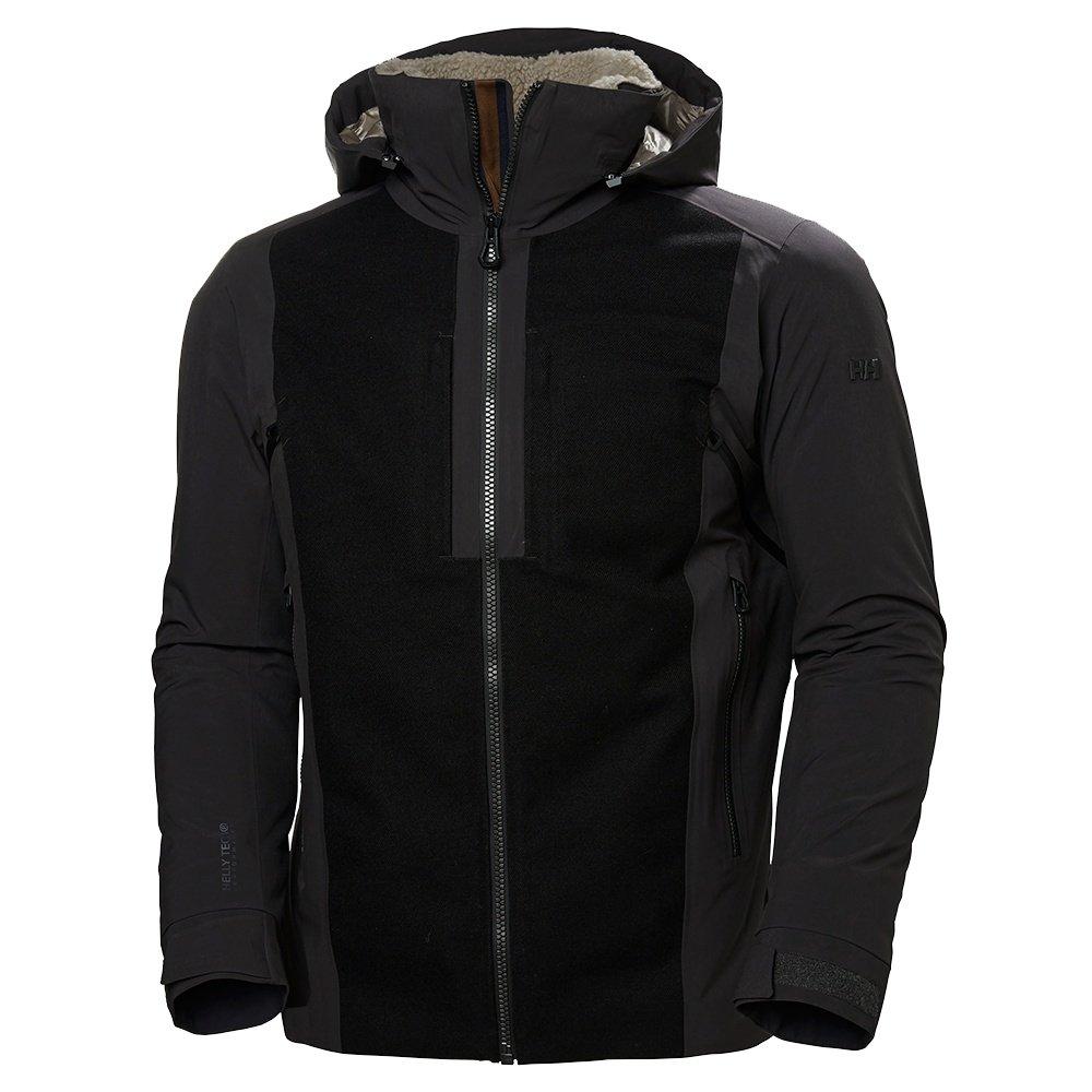 Helly Hansen Hero Insulated Ski Jacket (Men's) - Ebony