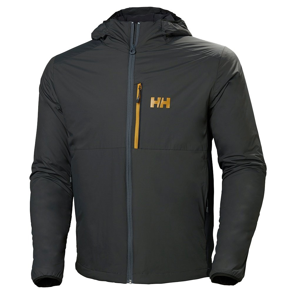 Helly Hansen Odin Stretch Hooded Light Insulator Jacket (Men's) - Charcoal