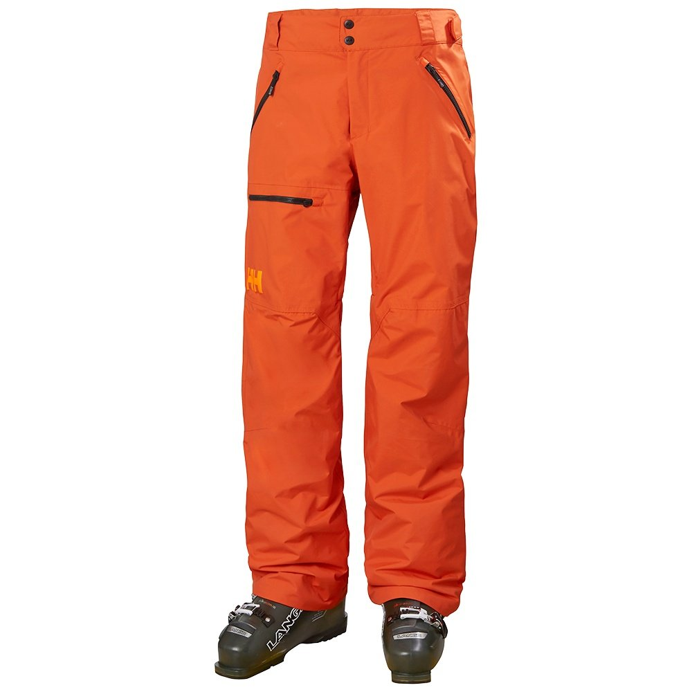 Helly Hansen Sogn Insulated Cargo Ski Pant (Men's) - Patrol Orange