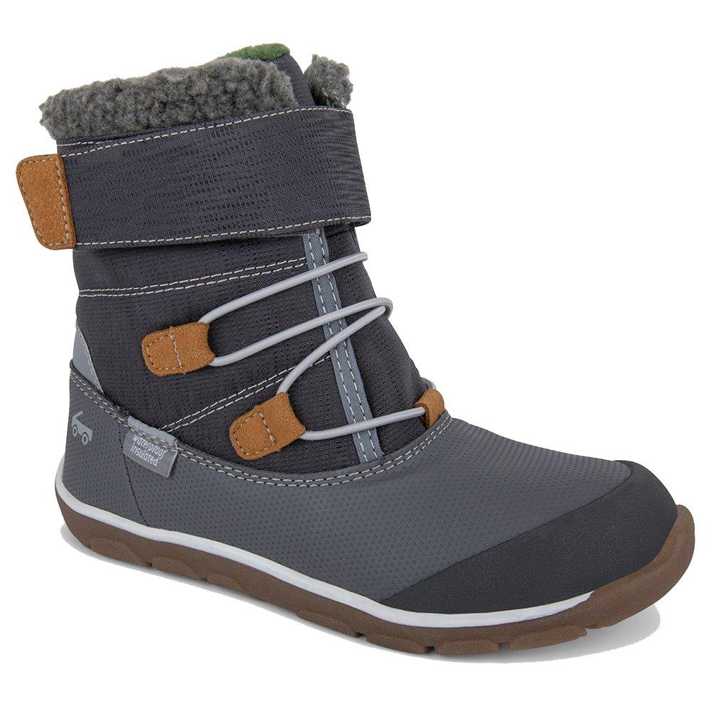 See Kai Run Gilman Waterproof Boot (Boys') - Gray