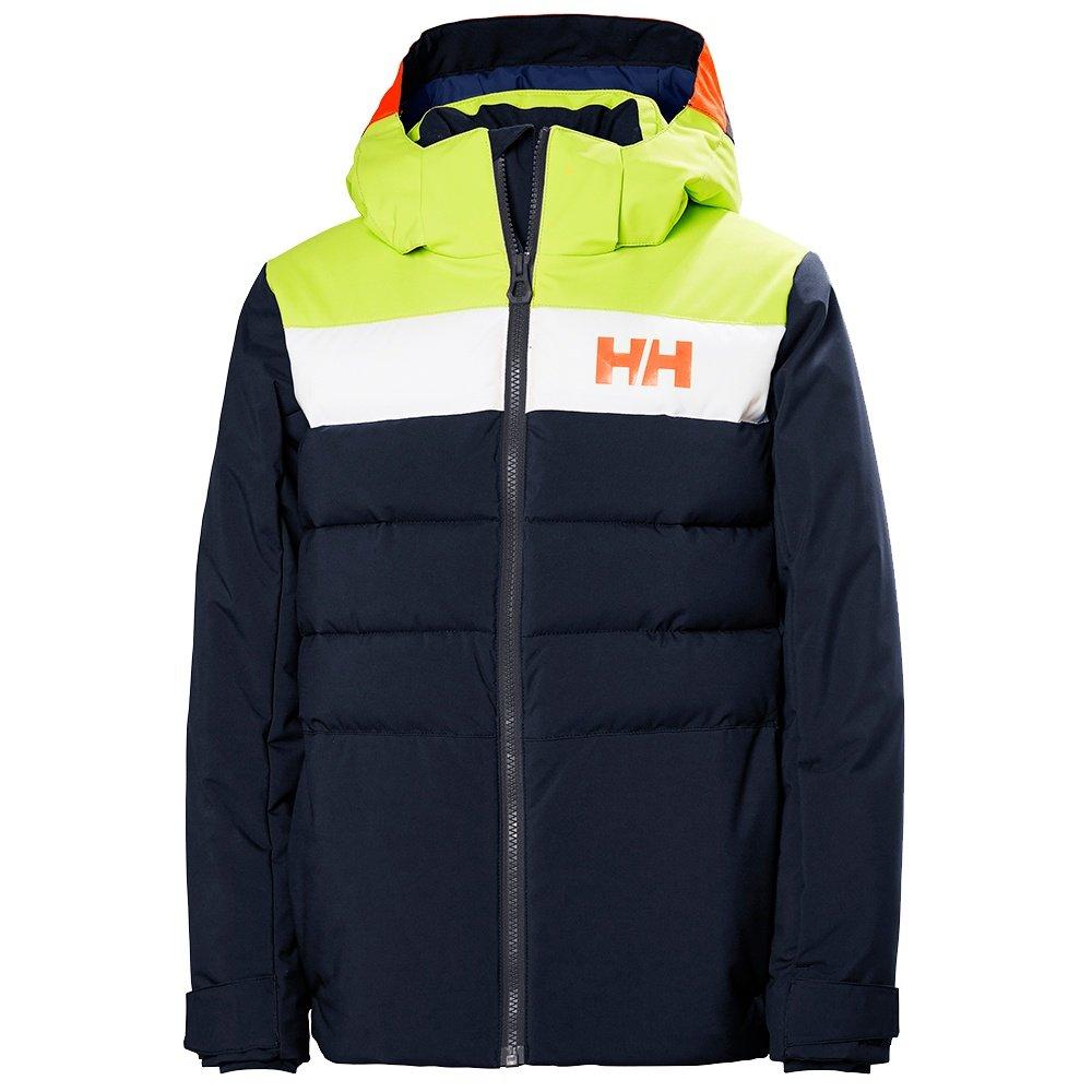 Helly Hansen Cyclone Insulated Ski Jacket (Boys') - Navy