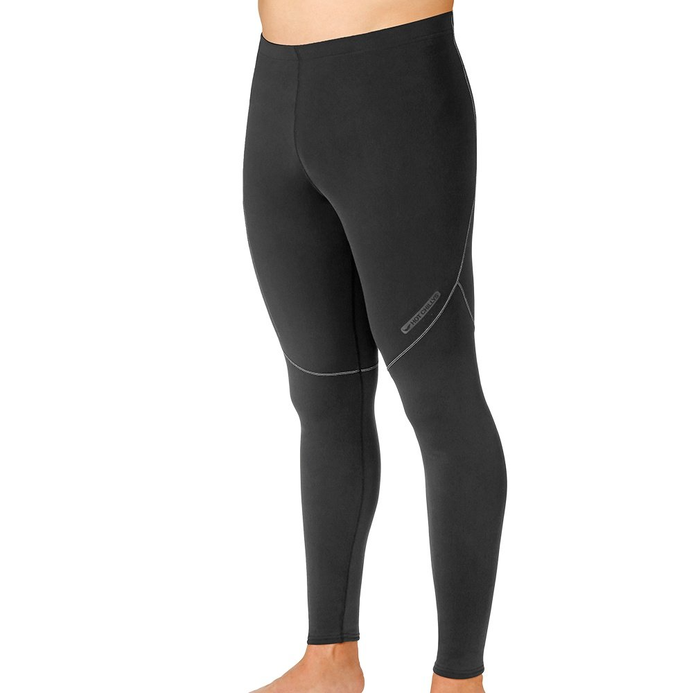 Hot Chillys Micro Elite Ankle Baselayer Tight (Men's) - Black/Grey
