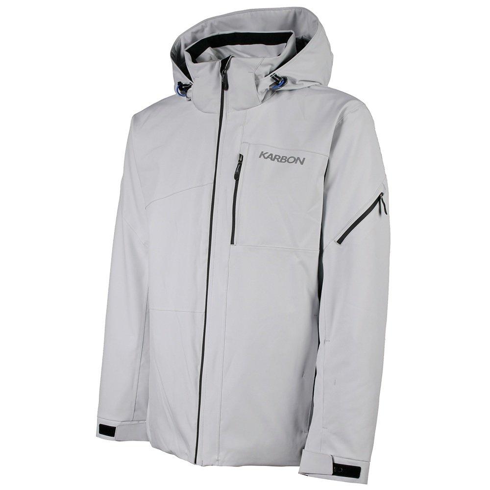 Karbon Hydrogen Insulated Ski Jacket (Men's) - Glacier/Black/Olympic Blue