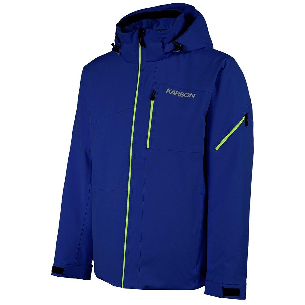 Karbon Hydrogen Insulated Ski Jacket (Men's) - Ink/Acid/Olympic Blue